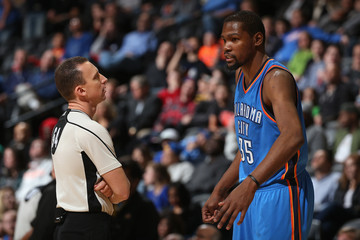 Justin Van Duyne Oklahoma City Thunder v Denver Nuggets