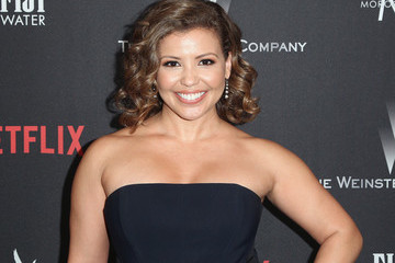 Justina Machado The Weinstein Company and Netflix Golden Globe Party, Presented With FIJI Water, Grey Goose Vodka, Lindt Chocolate, and Moroccanoil - Red Carpet
