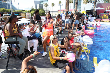 Justine Skye 2017 BET Experience - Pool Groove Sponsored by McDonald's - Day 2