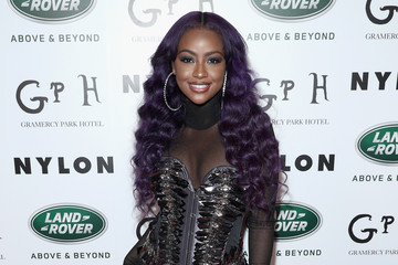 Justine Skye NYLON's Rebel Fashion Party, Powered by Land Rover, at Gramercy Terrace at Gramercy Park Hotel