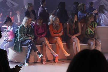 Justine Skye Christian Cowan NYFW Spring/Summer '22 Show - Front Row & Backstage