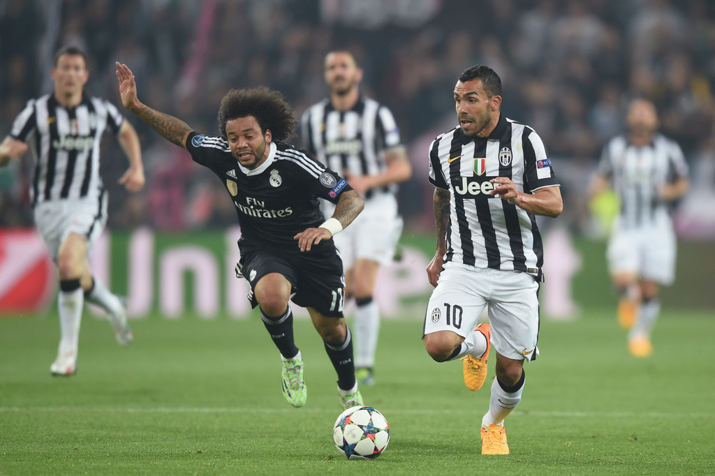 real madrid juventus online