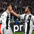 Cristiano Ronaldo and Miralem Pjanic Photos
