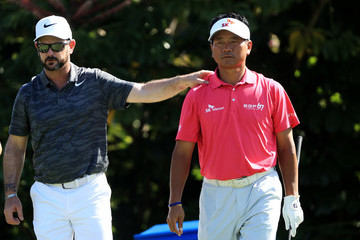 K.J. Choi Sony Open In Hawaii - Round Two