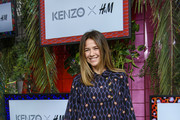 Alexandra Neldel attends the KENZO x H&M Pre-Shopping Event on November 2, 2016 in Berlin, Germany.