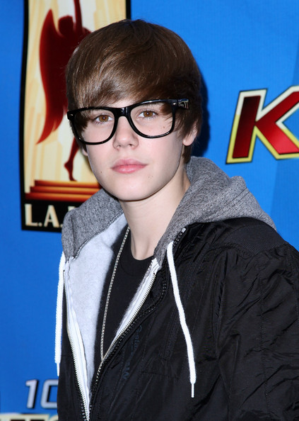 Singer Justin Bieber poses after his free performance presented by KIIS-FM at Nokia Plaza L.A. Live on February 13, 2010 in Los Angeles, California.