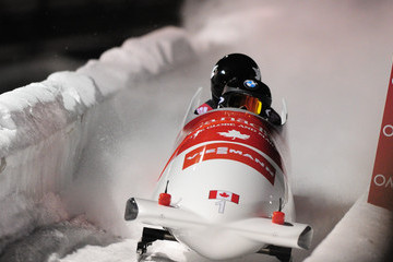 Kaille Humphries Park City FIBT Bobsled and Skeleton World Cup: Day 1