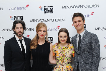 Kaitlyn Dever Ansel Elgort 'Men, Women & Children' Premieres in London