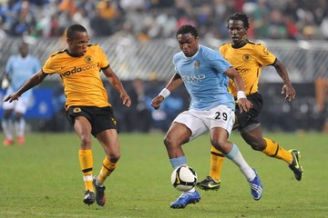 Punch Masenamela Kaizer Chiefs v Manchester City