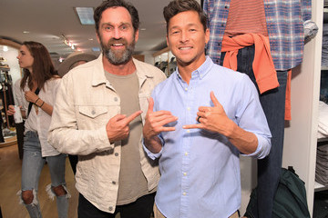 Kalani Robb Outerknown Celebrates The Launch of S.E.A. JEANS At Ron Herman