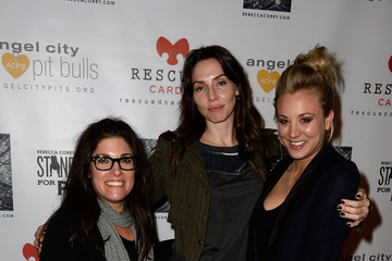Kaley Cuoco Rebecca Corry Stars at the 'Stand Up for Pits' LA Charity Event
