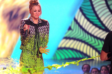 Kaley Cuoco Nickelodeon's 27th Annual Kids' Choice Awards - Show