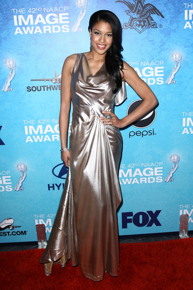 Kali Hawk Actress Kali Hawk arrives at the 42nd NAACP Image Awards after party at the SLS Hotel Beverly Hills on March 4, 2011 in Los Angeles, California.