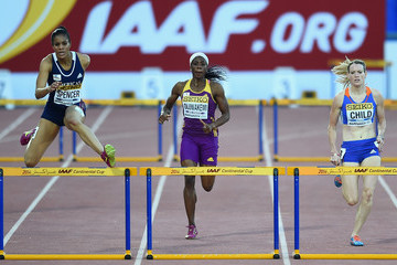 Kaliese Spencer IAAF Continental Cup - Day 1