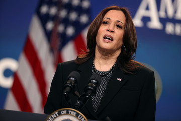 Kamala Harris European Best Pictures Of The Day - March 09