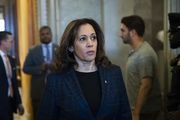 Kamala Harris Senate Votes On Confirmation Of Brett Kavanaugh To The Supreme Court