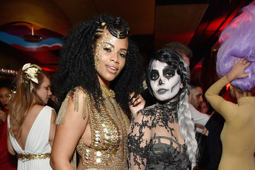 Kamie Crawford Heidi Klum's 17th Annual Halloween Party sponsored by SVEDKA Vodka at Vandal New York - Inside