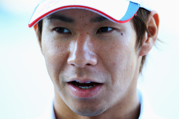 Kamui Kobayashi Kamui Kobayashi of Japan and BMW Sauber is interviewed in the paddock during previews to the Japanese Formula One Grand Prix at Suzuka Circuit on October 7, 2009 in Suzuka, Japan.