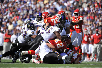 Mike Goff Kansas City Chiefs v Baltimore Ravens