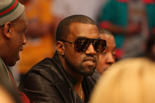 Kanye West Musical artist Kanye West attends the NBA game between the Miami Heat and the Los Angeles Lakers at Staples Center on December 25, 2010 in Los Angeles, California.