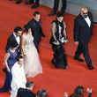 Kaouther Ben Hania 'Jupiter's Moon' Red Carpet Arrivals - The 70th Annual Cannes Film Festival