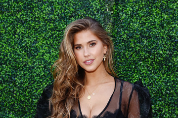 Kara Del Toro boohoo x Taylor Hill Tea Party