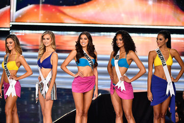 Kara McCullough Demi-Leigh Nel-Peters The 2017 Miss Universe Pageant