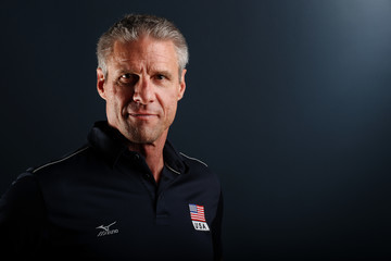 Karch Kiraly USA Indoor Volleyball Portrait Shoot