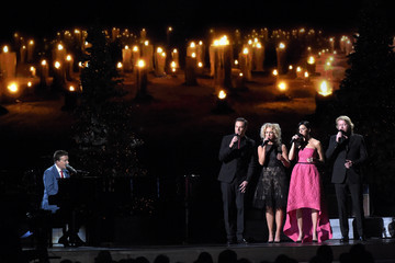Karen Fairchild Phillip Sweet CMA 2014 Country Christmas