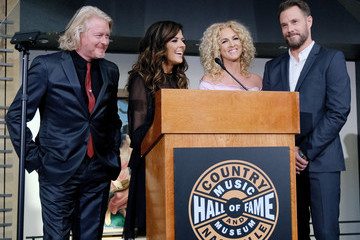 Karen Fairchild Phillip Sweet Country Music Hall Of Fame And Museum Celebrates The Opening Of Little Big Town's Exhibition