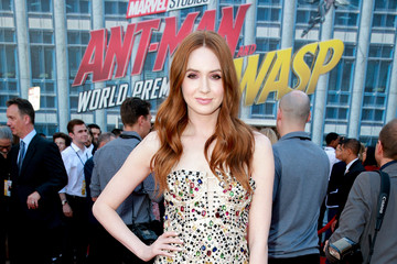 Karen Gillan Premiere Of Disney And Marvel's 'Ant-Man And The Wasp' - Red Carpet
