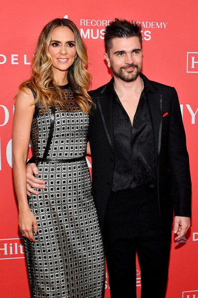 2018 MusiCares Person of the Year Honoring Fleetwood Mac - Arrivals [musicares person of the year,premiere,red,event,dress,fashion,carpet,cocktail dress,red carpet,flooring,style,arrivals,karen martinez,juanes,radio city music hall,new york city,fleetwood mac,l]