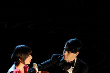 Karen O 86th Annual Academy Awards Show