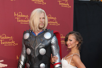 Karina Smirnoff Marvel Wax Figures Unveiled in Hollywood