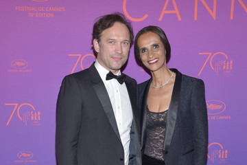Karine Silla Opening Gala Dinner Arrivals - The 70th Annual Cannes Film Festival