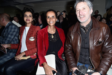 Karine Silla Jean Paul Gaultier : Front Row - Paris Fashion Week - Haute Couture Spring Summer 2016