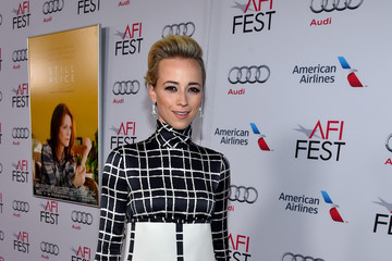 "Karine Vanasse AFI FEST 2014 Presented By Audi Special Screening Of ""Mommy"" - Red Carpet"