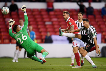 Karl Darlow Nottingham Forest vs. Newcastle United - Carabao Cup Second Round