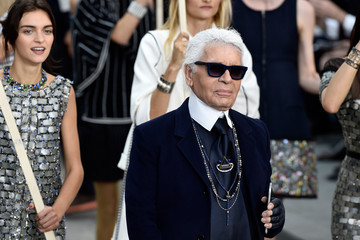 Karl Lagerfeld Chanel Runway Show