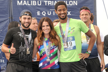 Karla Souza Nautica Malibu Triathlon Presented by Equinox