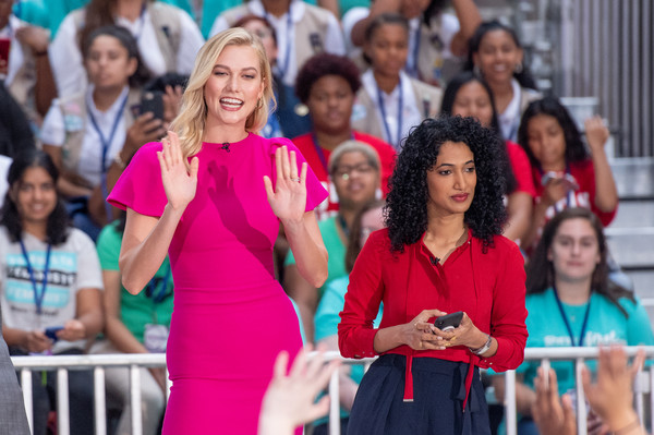Michelle Obama Celebrates International Day Of The Girl On NBC's 'Today'