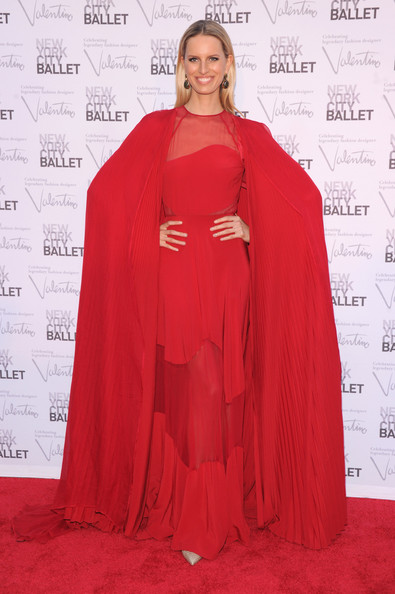 Karolina Kurkova - 2012 New York City Ballet Fall Gala