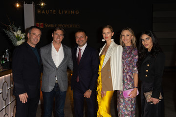 Karolina Kurkova Archie Drury Haute Living Honors Miami's Haute 100 List At Brickell City Centre With Special Guest Alonzo Mourning
