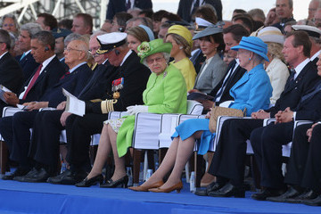 Karolos Papoulias The 70th Anniversary of D-Day Landings Commemorated