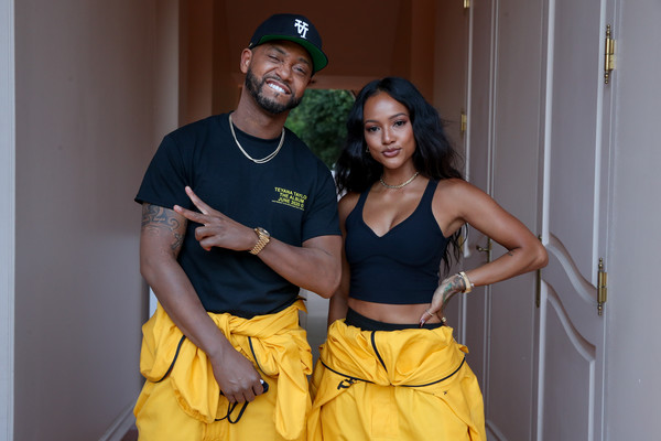 """Teyana Taylor """"The Album"""" Listening Party [the album listening party,yellow,fashion,fun,dance,muscle,abdomen,event,costume,room,photography,teyana taylor,terrence j,yellow,costume,abdomen,fashion,fun,dance,muscle,costume,abdomen,yellow]"""