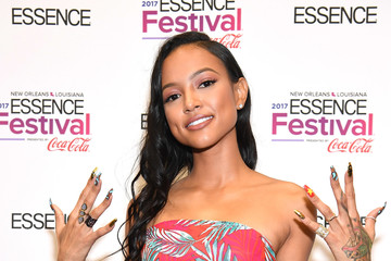 Karrueche Tran 2017 ESSENCE Festival Presented by Coca-Cola Ernest N. Morial Convention Center - Day 2