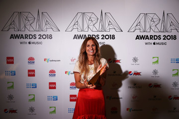 Kasey Chambers 32nd Annual ARIA Awards 2018 - Awards Room