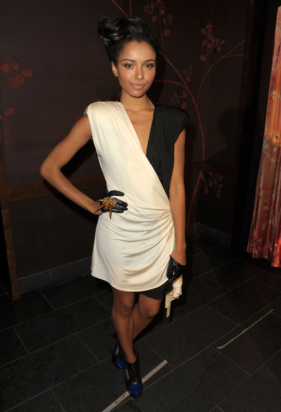 Kat Graham - 2nd Annual Golden Globes Party Saluting Young Hollywood - Inside