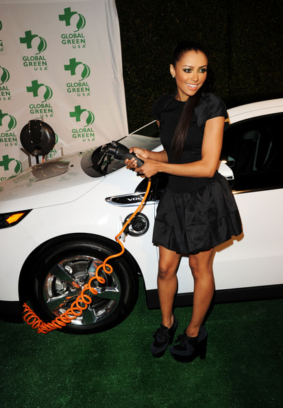 Kat Graham Actress/singer Kat Graham arrives at Global Green USA's 9th Annual Pre-Oscar Party Supporting Green Schools and Green Communities at Avalon on February 22, 2012 in Hollywood, California.