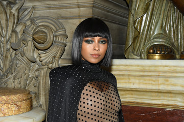 Kat Graham Balmain : Front Row -  Paris Fashion Week - Womenswear Spring Summer 2020